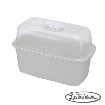 【Lustroware】日本進口抗菌碗籃附蓋