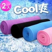 iCoolTowel 降溫機能運動冰涼巾 (超值2入)