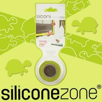 【Siliconezone】施理康Siconi環保矽膠任意膠帶貼-綠攜龜