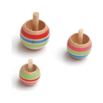 賽先生科學工廠|木製倒立陀螺(一組三個)