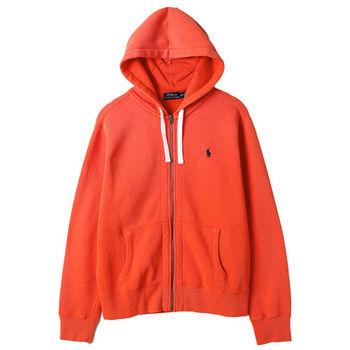 Ralph Lauren 男士長袖連帽外套 橘(S-XL)