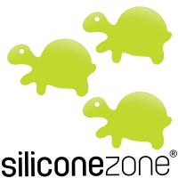 【Siliconezone】施理康Siconi環保矽膠任意貼-綠攜龜