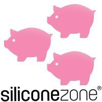 【Siliconezone】施理康Siconi環保矽膠任意貼-豬粉紅