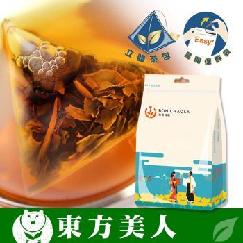 [台灣茶人]手採白毫烏龍3角立體茶包5袋組(18包/袋)