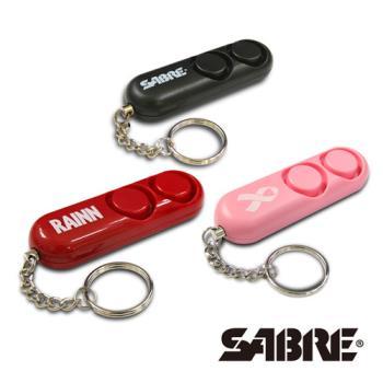 SABRE沙豹防身警報器 110高分貝隨身警報器 (黑色/粉紅色/紅色)