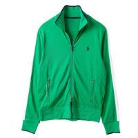 Ralph Lauren 男款立領雙開拉鍊運動外套-綠(S-XL)