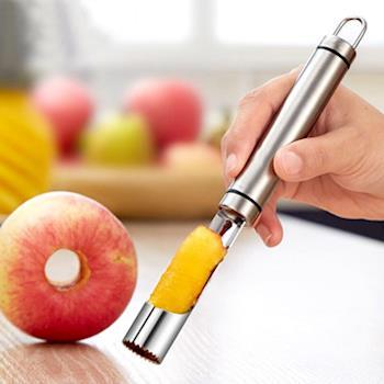 PUSH! 廚房用品304不銹鋼水果去芯器梨子蘋果取芯器去核器D80