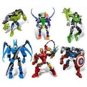 【海夫健康生活館】正品得高 Decool 兒童組合玩具 復仇者聯盟 超級英雄 公仔