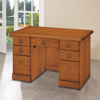 【時尚屋】[5U6]正樟木4.2尺辦公桌5U6-214-42
