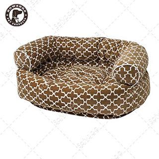【BOWSERS】雙層極適寵物沙發床(棕色普普風-M)