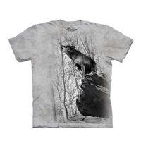 【摩達客】(預購)美國進口The Mountain 咆哮狼 純棉環保短袖T恤