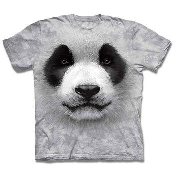 『摩達客』(預購)美國進口The Mountain 熊貓胖達臉 T恤