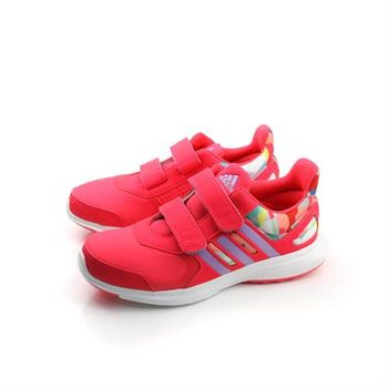 adidas hyperfast 2.0 cf k 跑鞋 兩個魔鬼氈 桔 童 no299