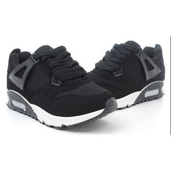 【 cher美鞋】厚底個性休閒鞋♥黑紅色/黑色♥F18-03