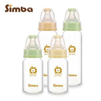 【小獅王辛巴】超輕鑽標準玻璃奶瓶超值組(2大2小)