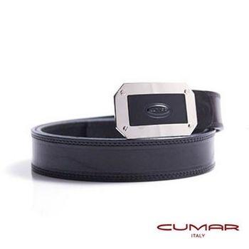 CUMAR 義大利原裝進口-牛皮造型紳士皮帶 0596-B88-01