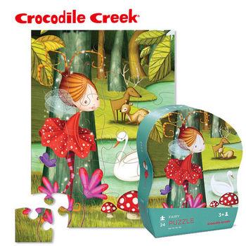 【美國Crocodile Creek】迷你造型拼圖系列-小仙女