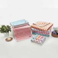 【MORINO】MIT美國棉方格漸層浴巾(2入組)