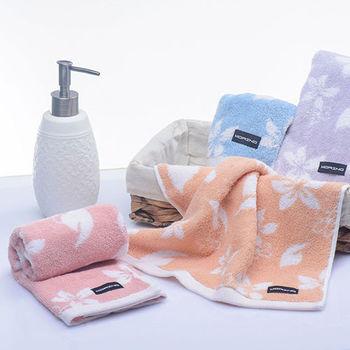 【MORINO】MIT美國棉油桐花毛巾(4入組)