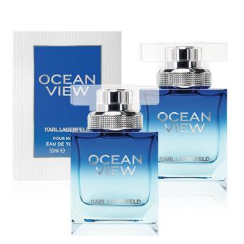 【KARL LAGERFELD】買一送一-卡爾海灣戀人限量男性淡香水30ml