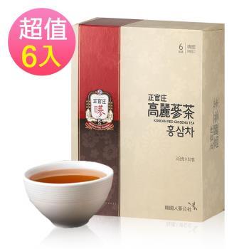 【正官庄】高麗蔘茶 (50包/盒)x6盒