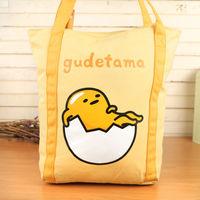 蛋黃哥 帆布手提肩背外出袋/購物袋(大)