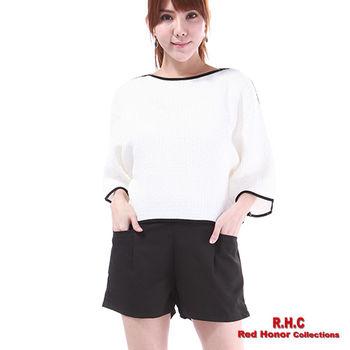 【R.H.C】韓風高腰短褲