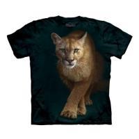 【摩達客】(預購)美國進口The Mountain  狩獵獅 純棉環保短袖T恤