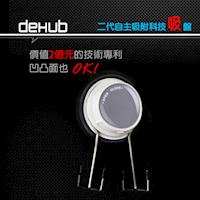 DeHUB 二代超級吸盤  雙掛勾(白)