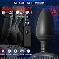 英國Nexus Ace艾斯 無線遙控變頻震動肛塞 USB磁吸充電