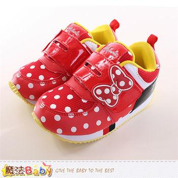 魔法Baby 童鞋 迪士尼米妮正版專櫃潮款運動鞋~sh9864