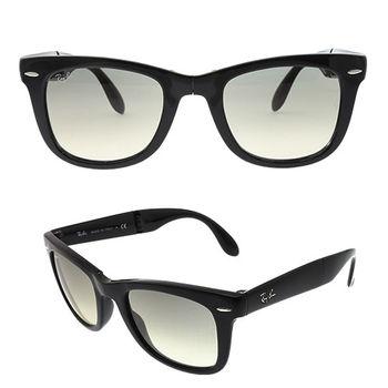 【Ray Ban】經典雷朋 WAYFARER摺疊漸層太陽眼鏡(RB4105-601/32-50)