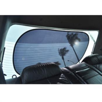 【買二送一】金德恩 新款 靜電隔熱大圓弧(前檔/後檔專用)x2組+送車用收納椅背掛勾(4勾)