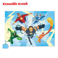 ~美國Crocodile Creek~遊樂學習拼圖系列~英雄世界