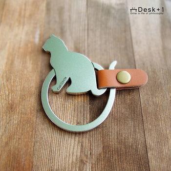 【Desk+1】 鑰匙圈吊飾(大) - 貓圈現象