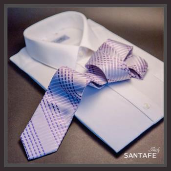 SANTAFE 韓國進口中窄版7公分流行領帶 (KT-128-1601011)