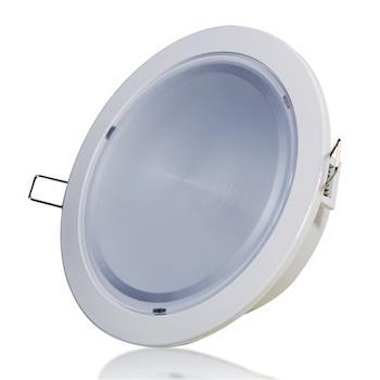 [日毓光電 大國民系列] 12W  6 LED崁燈 2入 (冷白光/暖黃光)