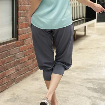 【TOMATO BEAR】台灣製 時尚機能七分褲超值3件組(M-2XL)