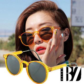 【BeLiz】太陽麥芽*透視鏡架墨鏡