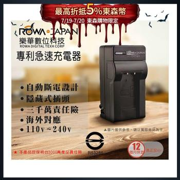 樂華 ROWA FOR SONY NP-FW50 適用 專利快速充電器
