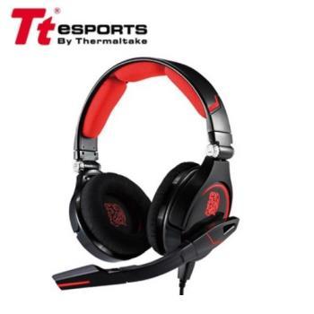 Tt eSports【曜越】克諾司CRONOS 電競耳機 黑