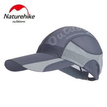 【Naturehike】混色風格款防曬透氣遮陽帽/鴨舌帽/棒球帽 (岩灰)