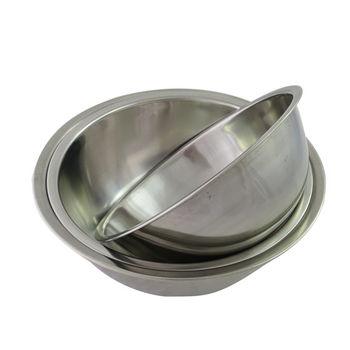 【烘焙屋DIY超值組】不鏽鋼調理打蛋盆三件組(20+22+24cm)