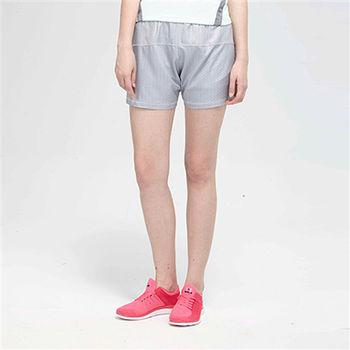 【TOP GIRL】純色鬆緊腰帶頭運動短褲-灰