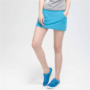 【TOP GIRL】純色休閒運動褲裙-共二色