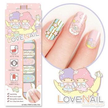 【LOVE NAIL】LittleTwinStars x LOVE NAIL限定版指甲油貼-熱戀馬卡龍