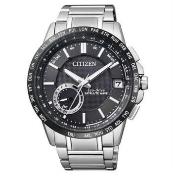 【CITIZEN星辰】光動能GPS萬年曆自動對時腕錶(CC3007-55E / F150)