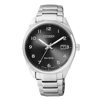 【CITIZEN星辰】簡約都會時尚Eco-Drive光動能女計時腕錶-黑(EO1170-51E)