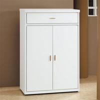 【時尚屋】[5U6]白色2.7尺鞋櫃5U6-240-1265