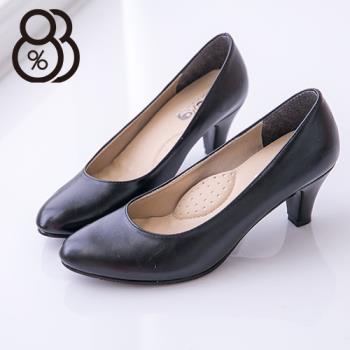 【88%】嚴選韓版宴會包鞋皮革6CM尖頭高跟鞋 5色